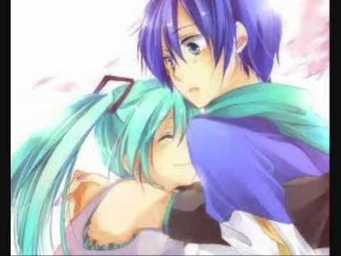 miku and kaito - everytime we touch