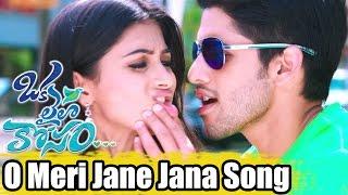 Oka Laila Kosam Video Songs - O Meri Jane Jana - Naga Chaitanya, Pooja Hegde - Full HD 1080p..