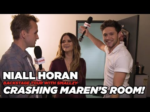 Niall crashes Maren Morris' Dressing Room! (Backstage Tour Pt. 6)