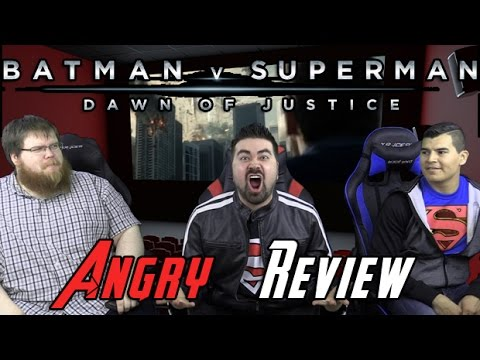 Batman v Superman Angry Movie Review