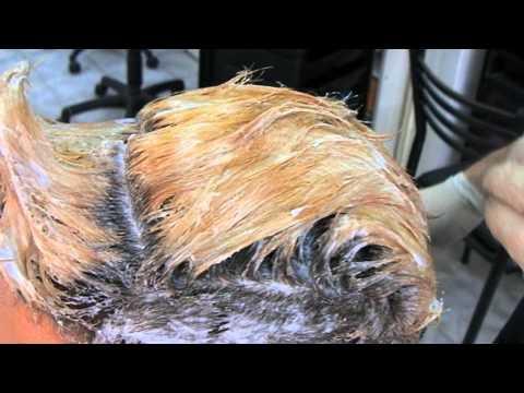 Short Hair Bleaching Part Two Decoloración Segunda Parte Cabello Corto
