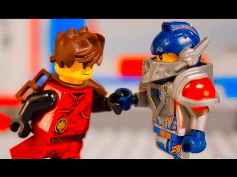LEGO NINJAGO vs NEXO KNIGHTS: Kai vs Clay