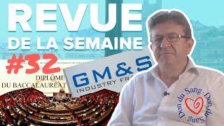 #RDLS32 : LÉGISLATIVES, RAQQA, BACCALAURÉAT, GM&S, DON DU SANG