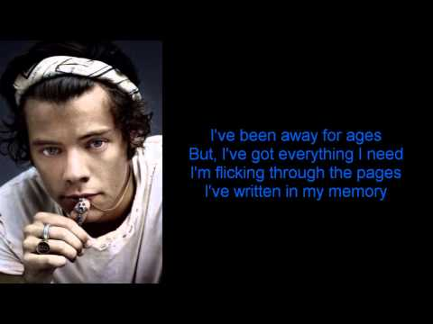 One Direction - Don't Forget Where You Belong (Lyrics + Pictures)