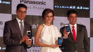 Panasonic Eluga A3 and A3 pro launched | Shot with EKEN Pano LiVe I 360 Degree Camera