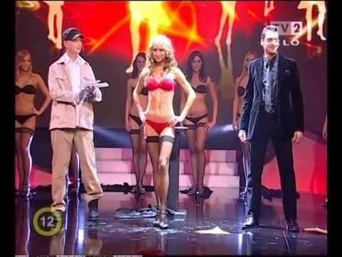 Striptease magic in a live TV show Máté Rakonczai