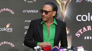 Jackie Shroff's FUNNY Jokes At Colors Stardust Awards 2015