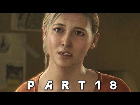 Insane Car Chase in Uncharted 4 A Thief's End Walkthrough Gameplay Part 18 (PS4)