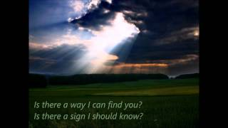 If i could be where you are - Enya    Lyrics