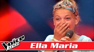 Ella Marie synger: Who Is Fancy –  'Goodbye' - Voice Junior / Blinds