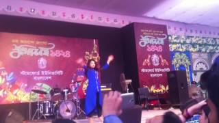 boishakhi dance----( Stamford university bangladesh)-- boishakhi concert   2