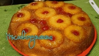 Moist, Delicious Pineapple upside down cake from scratch| Kitchenaid