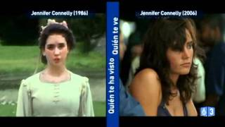 Han pasado dos décadas entre estas dos Jennifer Connely