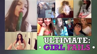 ULTIMATE GIRL FAILS AND FUNNY MOMENTS !! MUST WATCH !!
