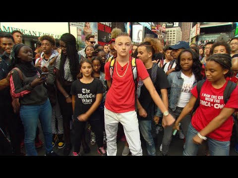 Xxx Mp4 Backpack Kid Teaches Fans How To Do His Signature Move 3gp Sex