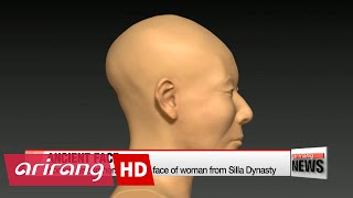 Korean researchers digitally reconstruct face of woman from Silla Dynasty