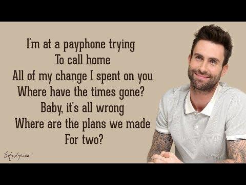 Payphone - Maroon 5 ft. Wiz Khalifa (Lyrics) 🎵