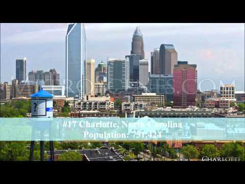 watch 50 largest cities of the United States of America