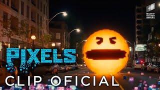 PIXELS. Pieza exclusiva: ¡Pac-Man tiene el poder!
