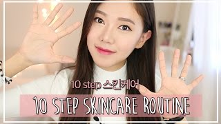 K Beauty Ep 1 | 10 Step Skincare Routine?!? + My Favorite products!!