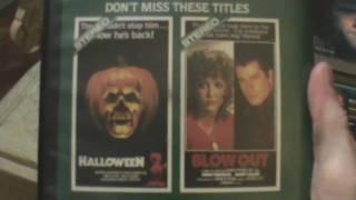 British Horror VHS on Roadshow Home Video