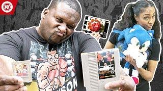 NBA Jam vs. Mike Tyson Punch Out   Throwback Video Games