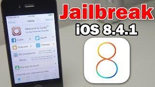 How to Jailbreak iOS 8.4.1 Using #EtasonJB on iPhone, iPod touch or iPad (Untethered / 32-bit)
