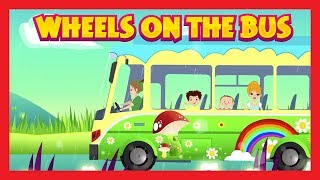 WHEELS ON THE BUS - PETER PAN SONGS || Peter Pan - Wheels On The Bus || Poems and Songs For Kids