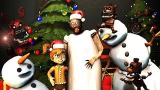 [FNaF/SFM] My Dear Friend Slendrina Granny  SUSIE CHRISTMAS (FNAF 6 /FNAF Sister Location animation)