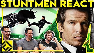 Stuntmen React To Bad & Great Hollywood Stunts 2