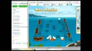 Skype Games: Sea Battle Part 2