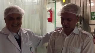 Pegah Milk Factory Tour - Tehran, Iran