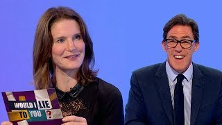 Did Susie Dent's dad break her leg? - Would I Lie to You? [HD][CC]