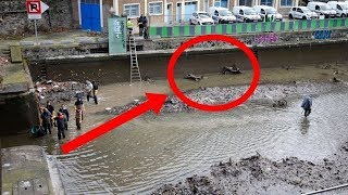 They Drained This Canal For The First Time In Decades, And What They Discovered Is Truly Bizarre
