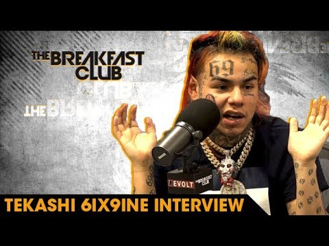 6ix9ine Explains Why He Loves Being Hated Rolling With Crips And Bloods & Why He s The Hottest