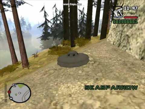 CJ consigue trabajo mito secreto dia en la montaña GTA San Andreas Loquendo