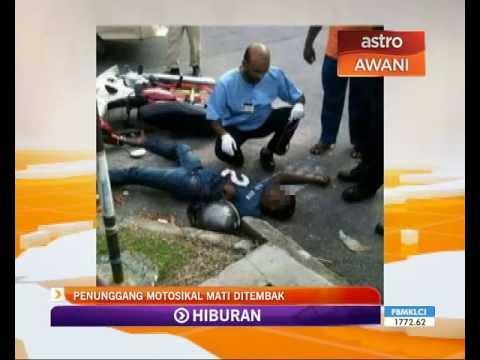 Penunggang motosikal mati ditembak