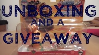 (ENTRY CLOSED) Donkey Kong Unboxing and a Giveaway!!!! - Skylanders Superchargers Racing - Amiibo
