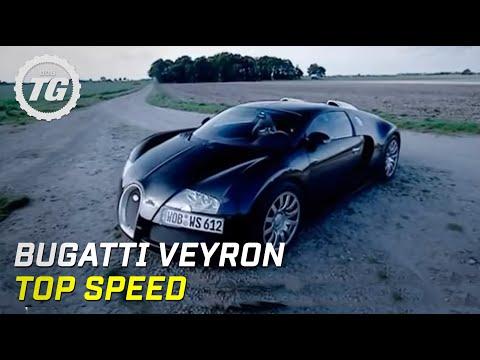 Bugatti Veyron Top Speed Test Top Gear BBC