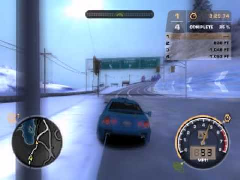 zdravko fack Need For Speed Most Wanted (2005) MODE SNOW