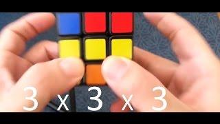حل مكعب روبيك مبسط و سهل الحفظ (للمبتدئ)