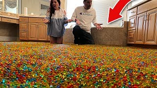 I Filled my Parents Room with 5,000,000 ORBEEZ! (Prank GONE WRONG)