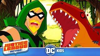 Justice League Action | Green Arrow Justice | DC Kids