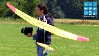 BABA-JAGA COMPETITION & 3X BIG FRIENDLY MODELLBAUSERVICE SCHUSTER RC GLIDERS SEGELFLUGMESSE