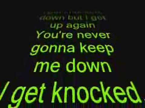 Tubthumping (I Get Knocked Down) Lyrics