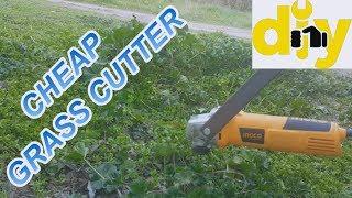 WOW CHEAP !!!ANGLE GRINDER HACK GRASS CUTTER TRIMMER