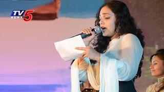 Actress Nitya Menon Sings Lalijo Song | NATA Mahasabhalu 2016 | TV5 News