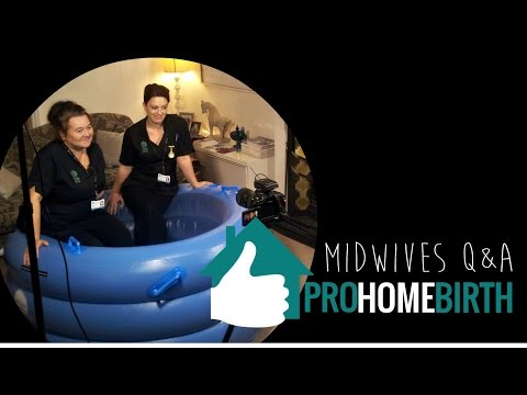 ★ PRO HOME BIRTH ★ Midwives Sarah & Debbie Q&A By viaductvideo.co.uk