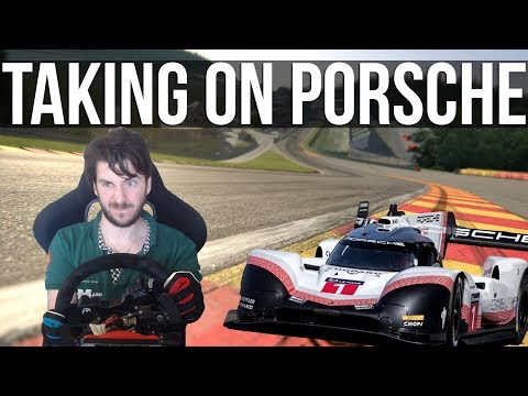 Trying To Beat Porsche's Spa Record In Their 919 Evo