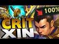 Download Video Download 100% CRIT XIN JUNGLE! HIGHEST BURST DAMAGE EVER!! - League of Legends 3GP MP4 FLV